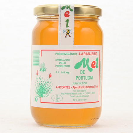Orange blossom honey, 500g glass