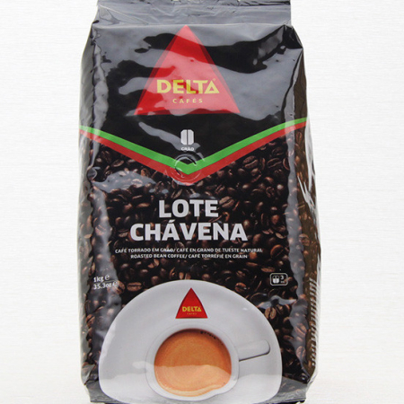Coffee delta, Chavena, whole bean, roasted coffee, package of 1000g