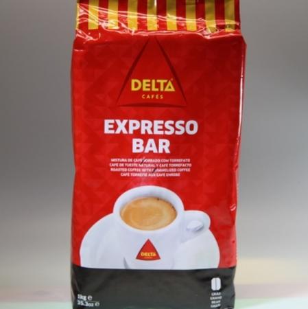 Kaffee Delta Espresso Bar, Torrado/Torrefacto, ganze Bohne, 1 kg