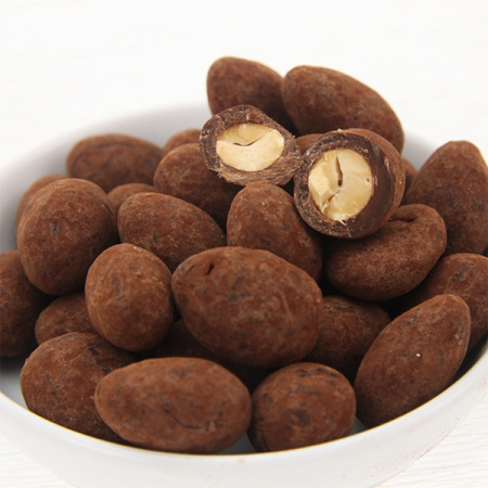 Truffle almonds in milk chocolate 200g