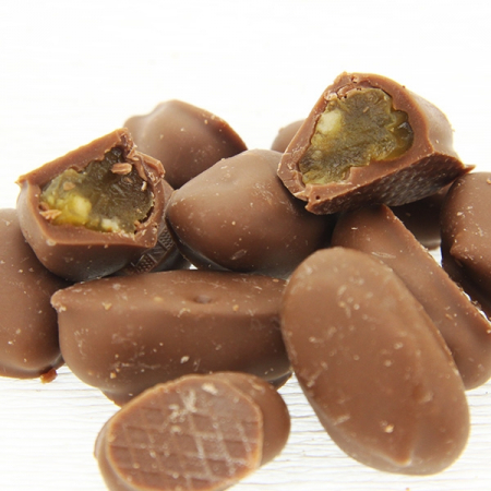 Grappa-grapes in tenderly melting milk chocolate 100g