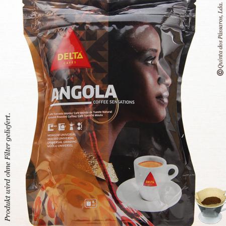 Kaffee Delta gemahlen  ANGOLA  250g