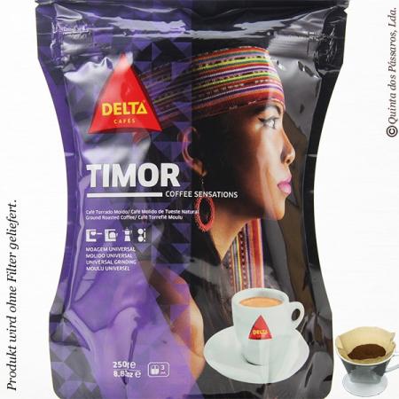 Kaffee Delta gemahlen  TIMOR  220g