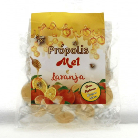 Candies with Propolis - Honey - Orange, 75g