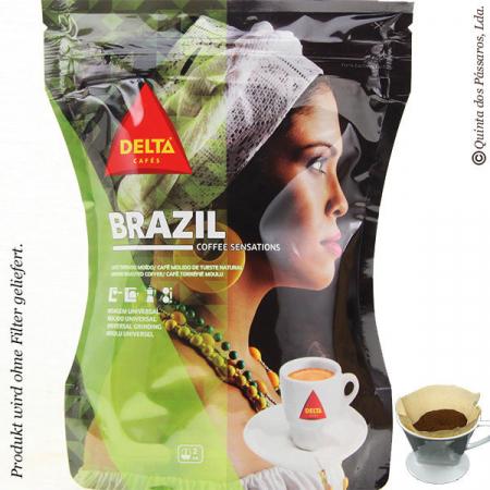 Kaffee Delta gemahlen  BRAZIL  250g