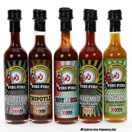 5er Pack Gourmet Gewürzsosse 50ml Piri-Piri & Co