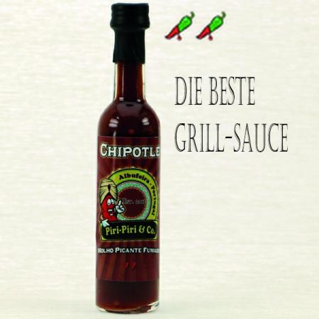 Chipotle Gourmet Gewürzsosse Rauch-Aroma 50ml Piri-Piri & Co