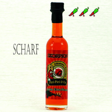 Skorpion Gourmet Gewürzöl 50ml Piri-Piri & Co