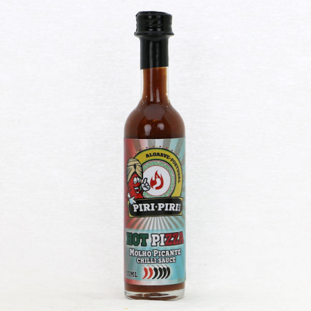 Hot Pizza Gourmet Sauce 50ml Piri-Piri & Co