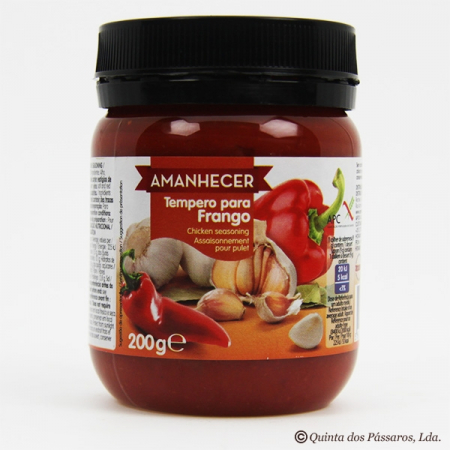 Spice paste/marinade for chicken (Tempero Frango), Amanhecer, 200g