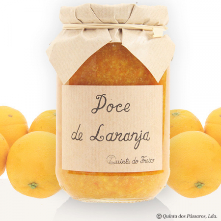 THE BESTSELLER: Sweet orange jam with peel (laranja) Quinta do Freixo 440g glass
