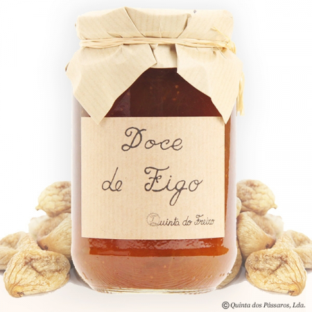Fig jam (doce de figo) Quinta do Freixo 440g glass