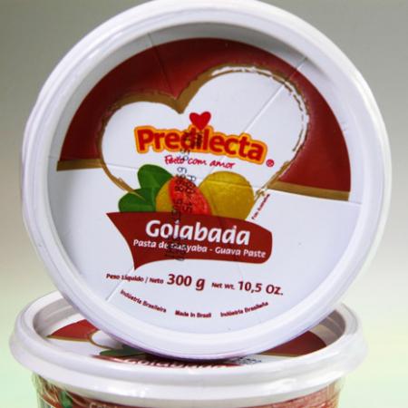 Fruchtmus aus Guavensaft, Goiabada, 300g Pack.