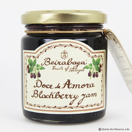 Blackberry jam (amora) Beirabaga 270g glass