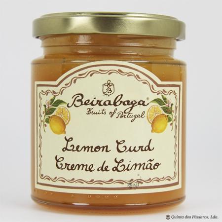 Lemon Curd (Zitronencreme) Beirabaga 270g Glas