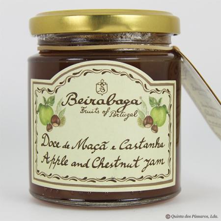 Apfel-Eßkastanien-Marmelade (maca e castanha) Beirabaga 270g Glas