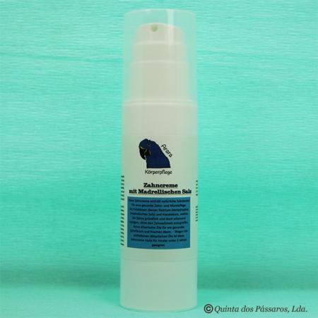 Zahncreme mit Madrellischem Salz ohne Fluor 200ml Spenderflasche