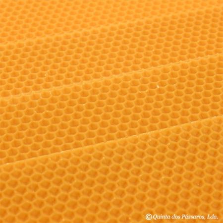Wachsplatten aus reinem Bienenwachs ca. 33cm x 20cm Pack. mit 3 Platten