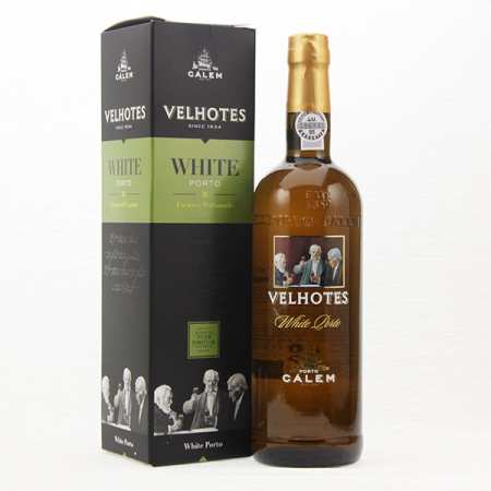 Port wine Calem Velhotes, WHITE, 750ml bottle
