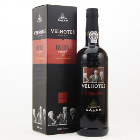 Port wine, RUBY, Calem Velhotes 750ml bottle
