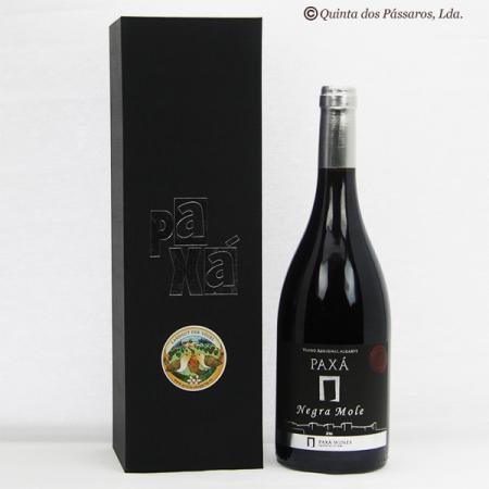 Rotwein PAXA Negra Mole 2016 im Geschenkkarton 750ml Flasche
