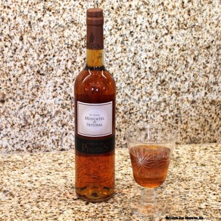 Moscatel de Setubal. Süßer Dessert-Wein