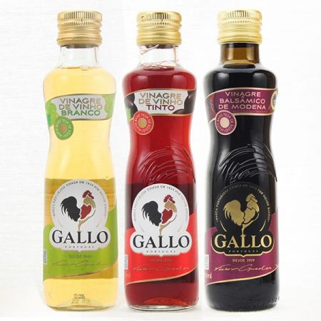 3er Pack Essig Gallo, 250ml Flaschen