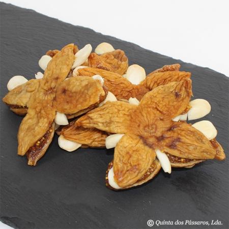 Feigen-Sterne mit Mandeln  Eine Spezialität der Algarve 150g