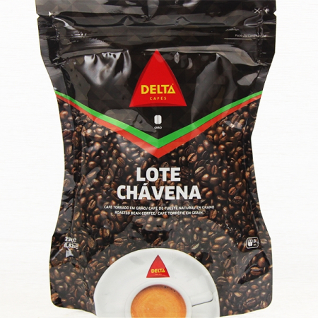 Coffee delta, Chavena, whole bean, roasted coffee, package of 250g
