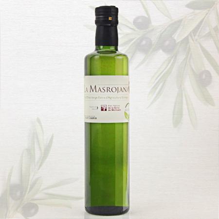 Olivenöl Arbequina, Virgin Extra ecológico 500ml Fla.