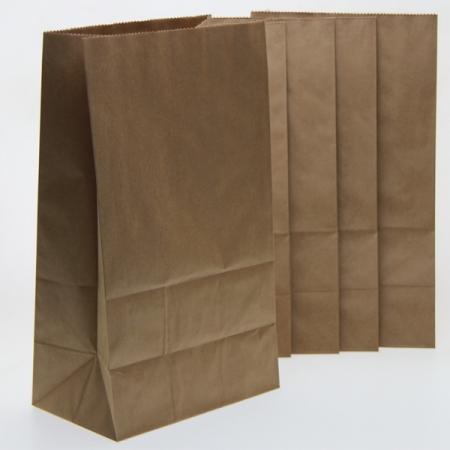 Z-Blockbeutel Kraftpapier 17x11x30 5er Pack