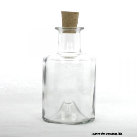 Apothekerflasche mit Korken 200ml
