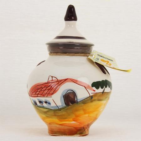 Honig im dekorativen Keramiktopf 420g